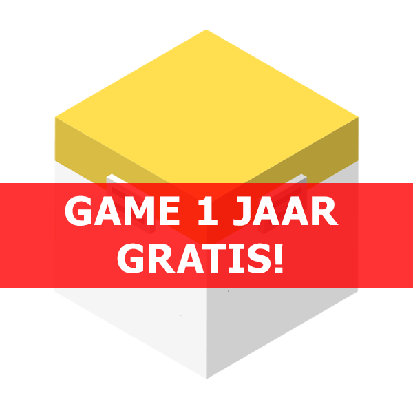 Game 1 jaar gratis